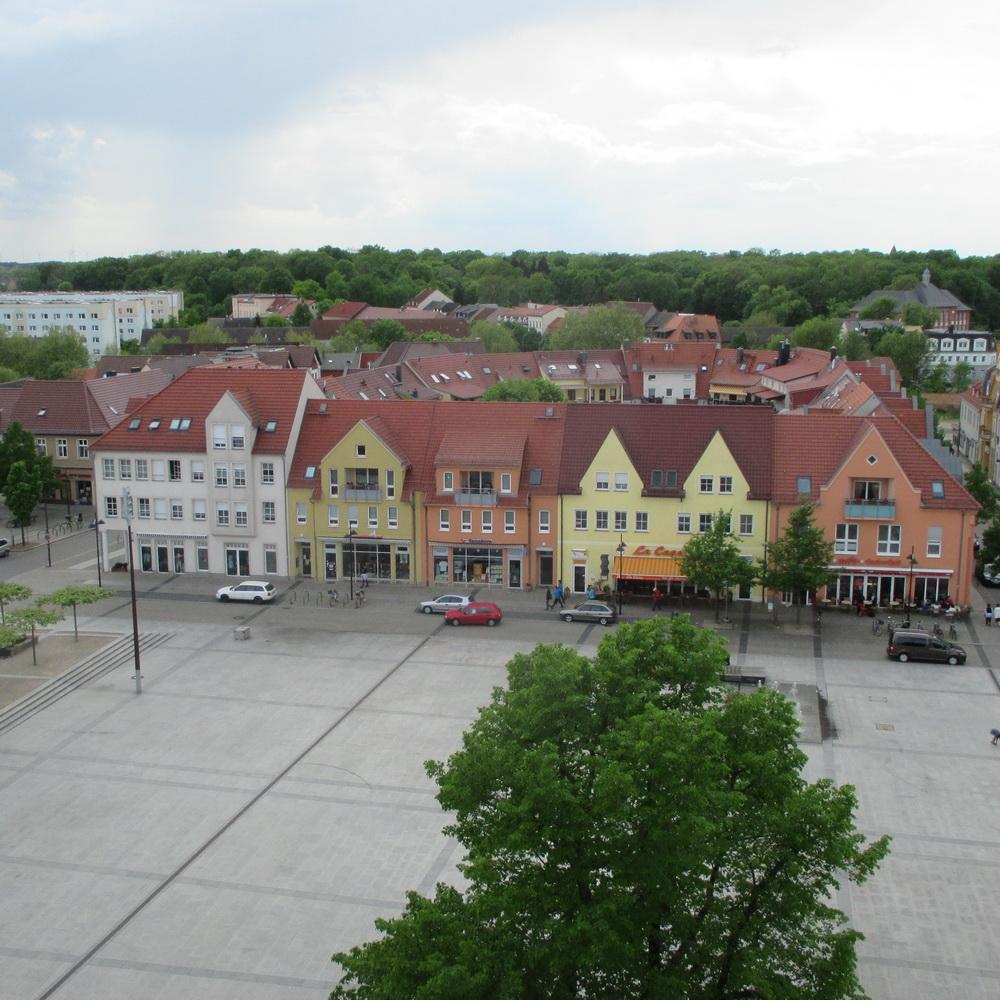 Bebauungskonzept  Marktplatz Lübben / Spreewald