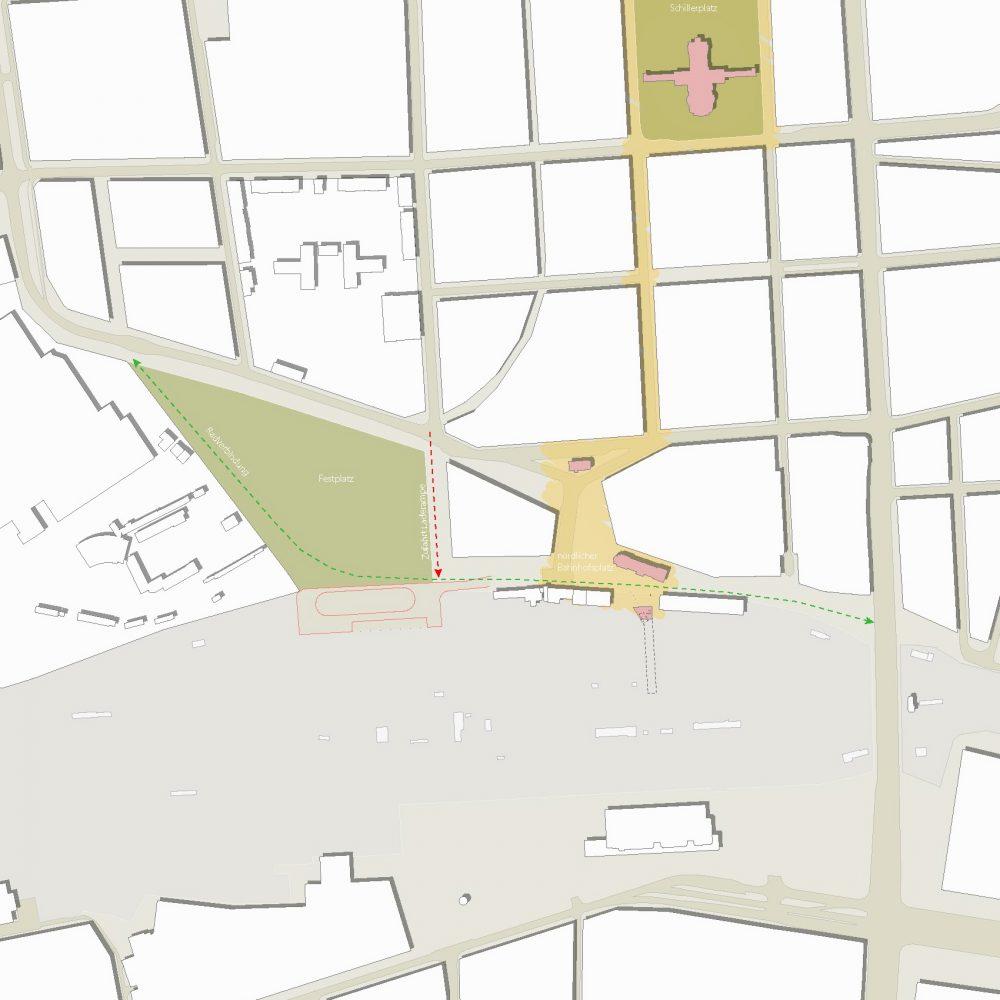 Städtebaulicher Rahmenplan Cottbus Bahnhof-Nord