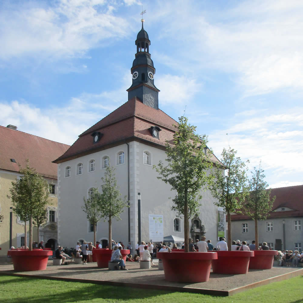 Neugestaltung Schlossumfeld Lübben / Spreewald