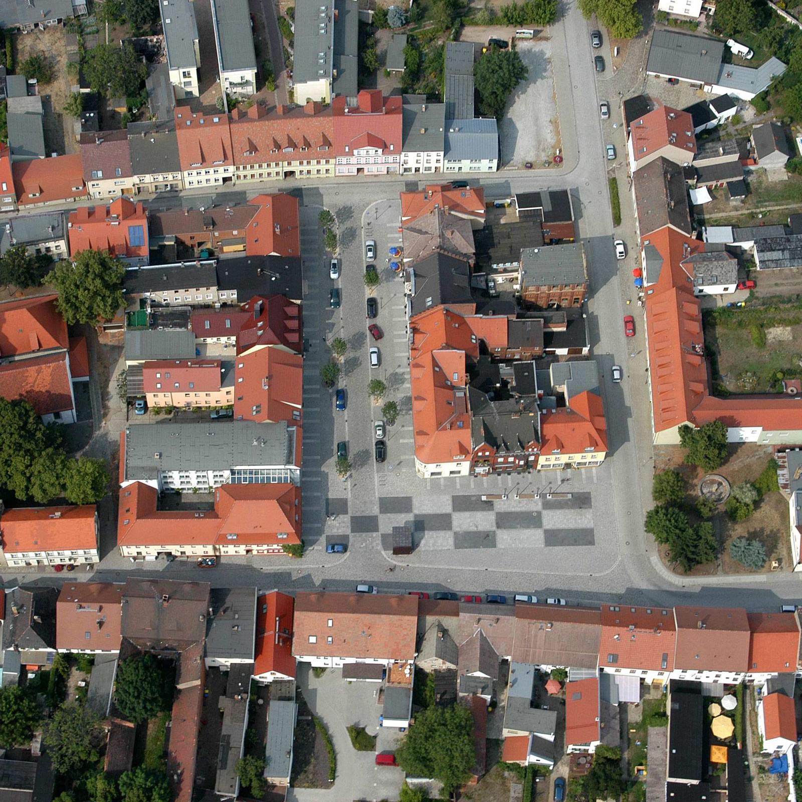 Neugestaltung Marktplatz Vetschau / Spreewald