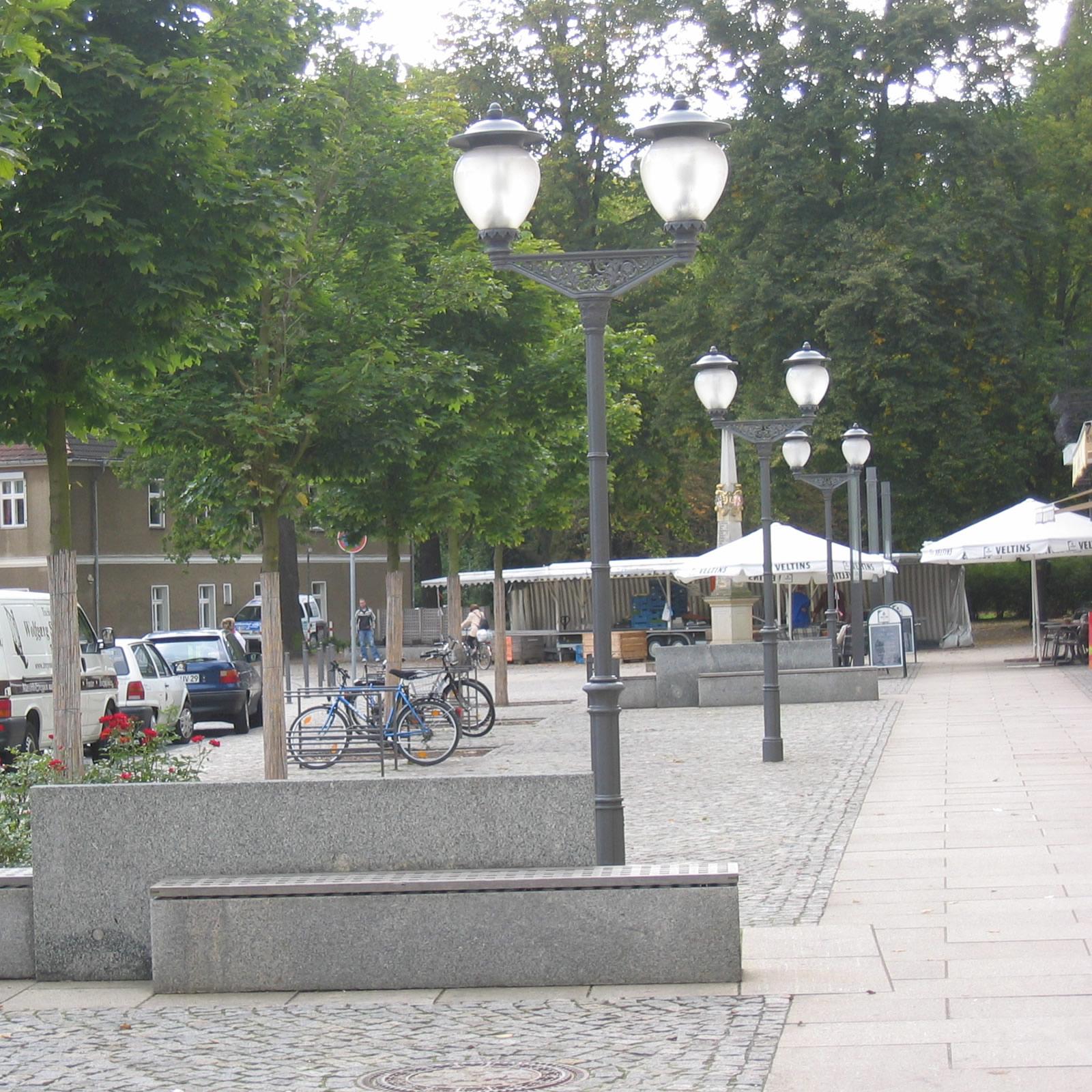 Neugestaltung Breite Straße Lübben / Spreewald