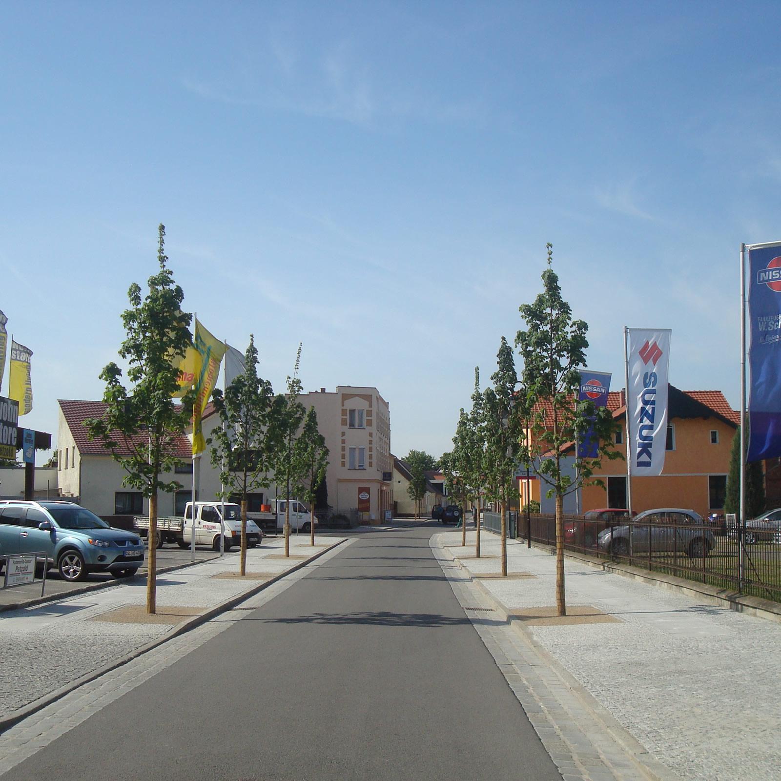 Neugestaltung Bahnhofstraße Vetschau / Spreewald