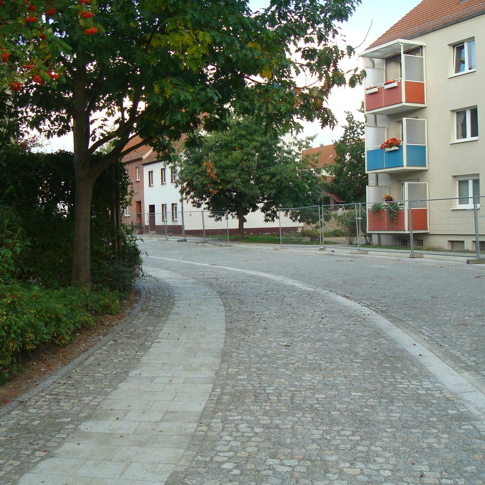 Neugestaltung Kirchstraße Lübben / Spreewald