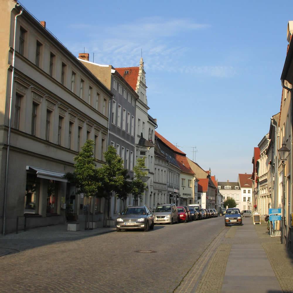 Neugestaltung Hauptstraße Luckau