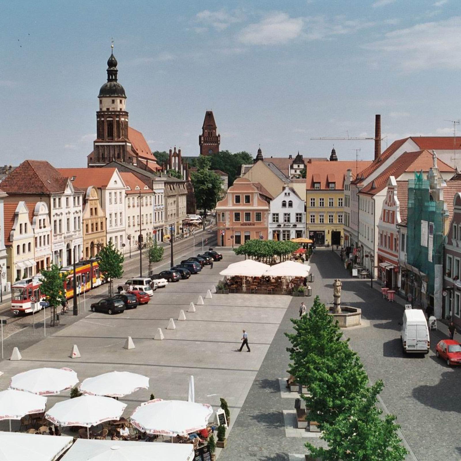 Neugestaltung Altmarkt Cottbus