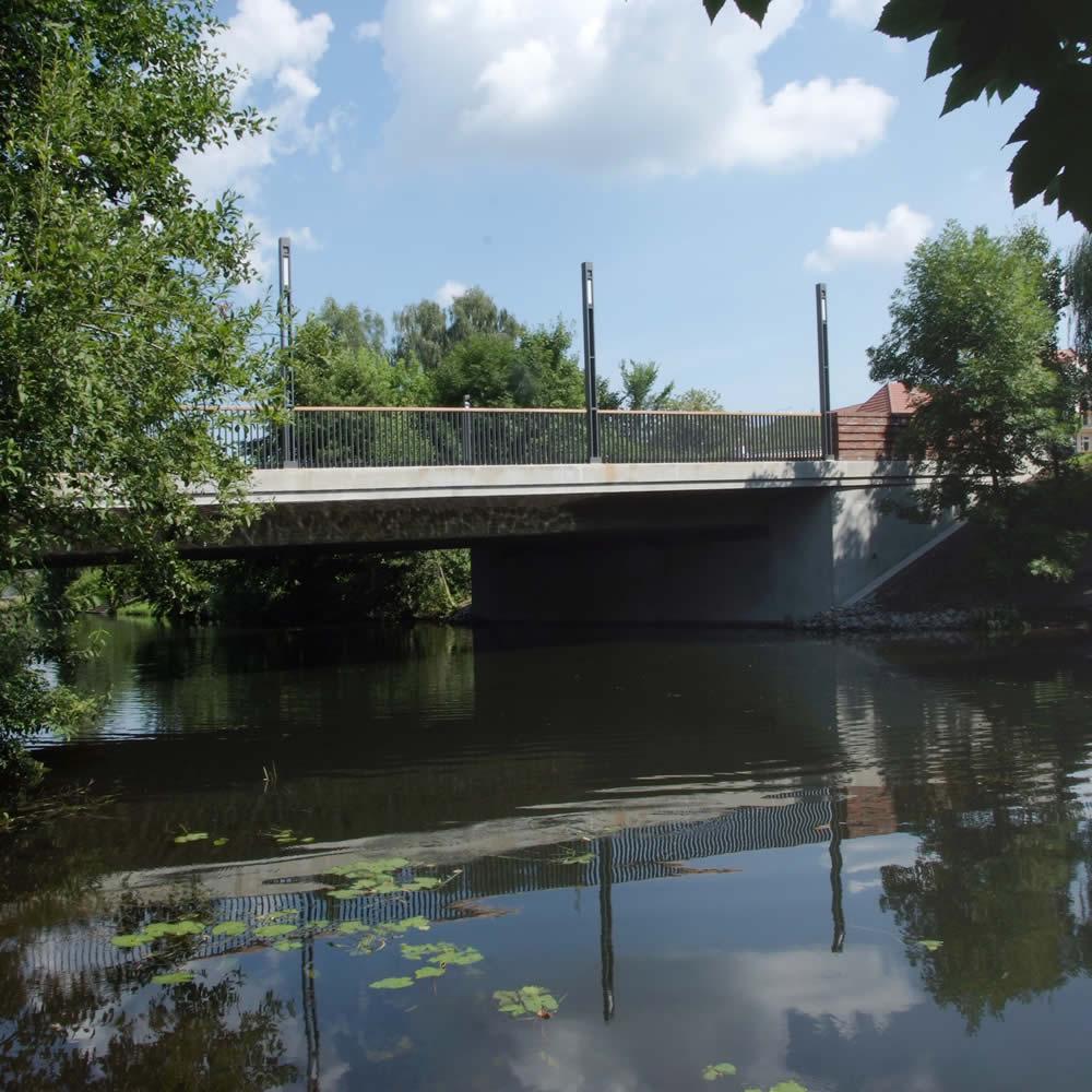 Neubau Spreebrücke Lübben / Spreewald