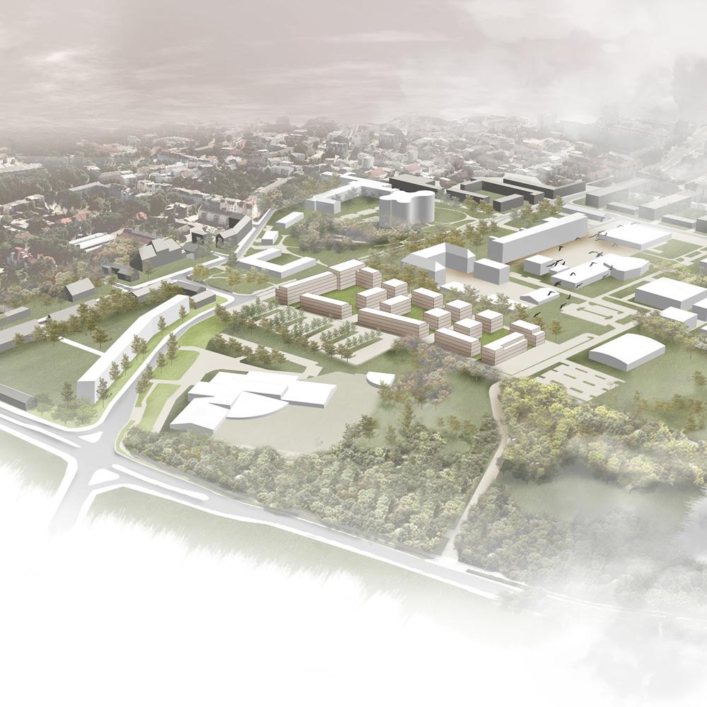 Städtebaulicher Entwurf CampusWohnen Cottbus