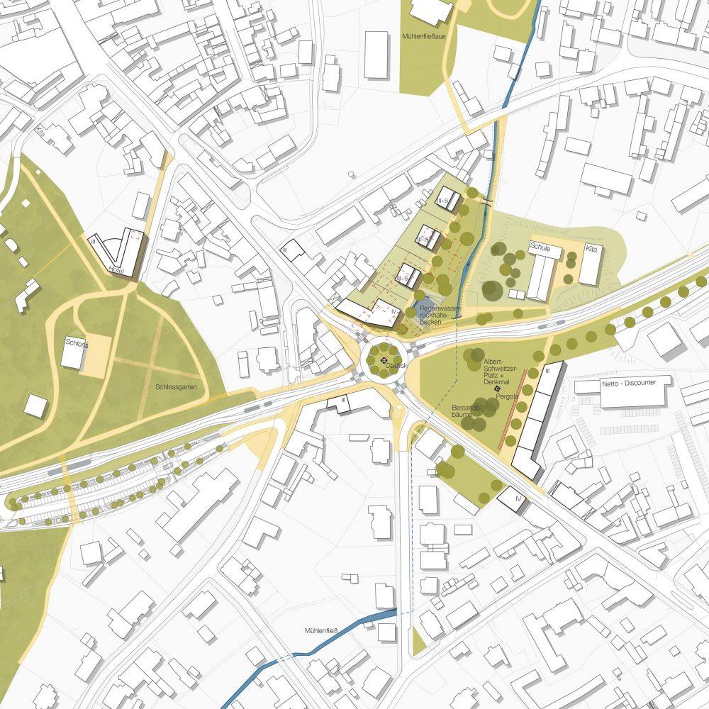 Städtebaulicher Rahmenplan Schweitzer-Platz Bad Freienwalde
