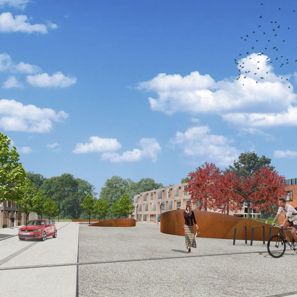 """Städtebaulicher Entwurf """"Stahlhof"""" Barlachstadt Güstrow"""