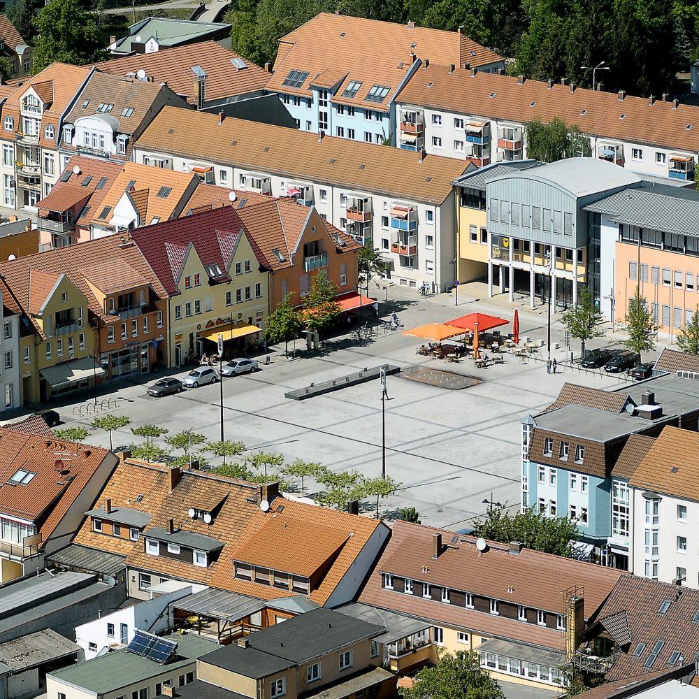 Neugestaltung Marktplatz Lübben / Spreewald