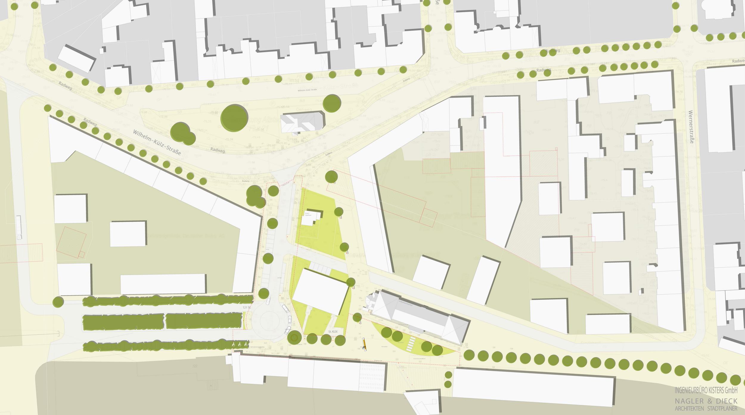 Auszug Städtebaulicher Rahmenplan Nördliches Bahnhofsumfeld Cottbus